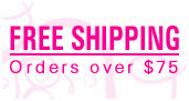 Free shipping - Orders over $75